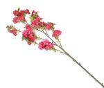 View large Artificial 129cm Single Stem Cerise Japanese Cherry Blossoms x 12 - Artificial Luxury Silk Flower Range UK