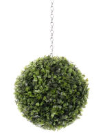 View large Artificial 22cm Boxwood Ball Topiary x 2 - Artificial Silk Plant and Tree Range UK