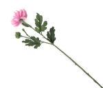 View large Artificial 55cm Single Stem Pink Chrysanthemums x 6 - Artificial Luxury Silk Flower Range UK