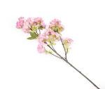 View large Artificial 80cm Single Stem Deep Pink Japanese Cherry Blossoms x 6 - Artificial Luxury Silk Flower Range UK
