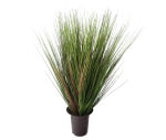 View large Artificial 2ft Onion Grass Plant - Artificial Silk Plant and Tree Range UK