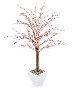 View large Artificial 5ft Pink Cherry Blossom Tree - Artificial Silk Plant and Artificial Tree Range UK