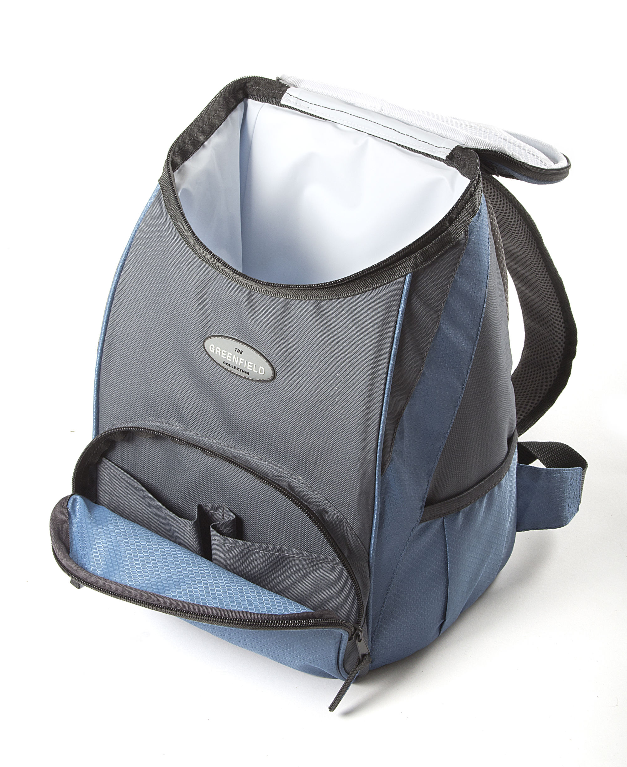 Greenfield Collection Blue Backpack Cool Bag, Picnic Bag, Picnic ...