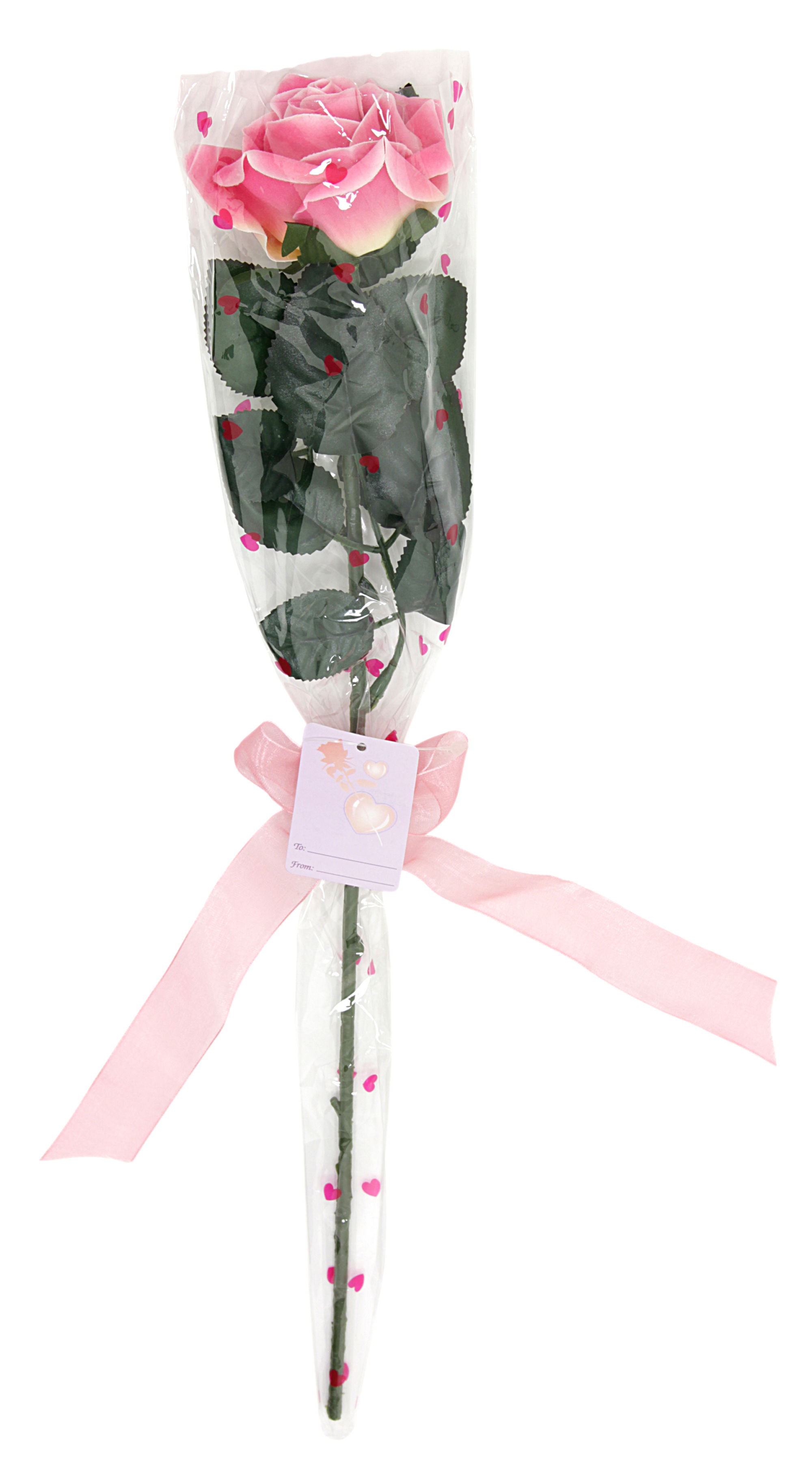 Gift Wrapped Artificial Rosa and and and rot Silk Rosas x 1,920, Valentin f8f269
