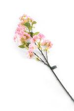 View large Artificial 80cm Single Stem Deep Pink Japanese Cherry Blossom - Artificial Luxury Silk Flower Range UK