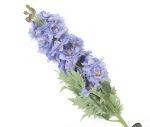 View large Artificial 105cm Single Stem Purple Candle Larkspur - Artificial Luxury Silk Flower Range UK