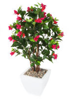 "View large Artificial 3ft 2"" Magenta Bougainvillea Tree - Artificial Silk Plant and Tree Range UK"