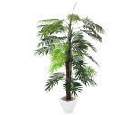 View large Artificial 5ft Kentia Palm Tree - Artificial Silk Plant and Tree Range UK