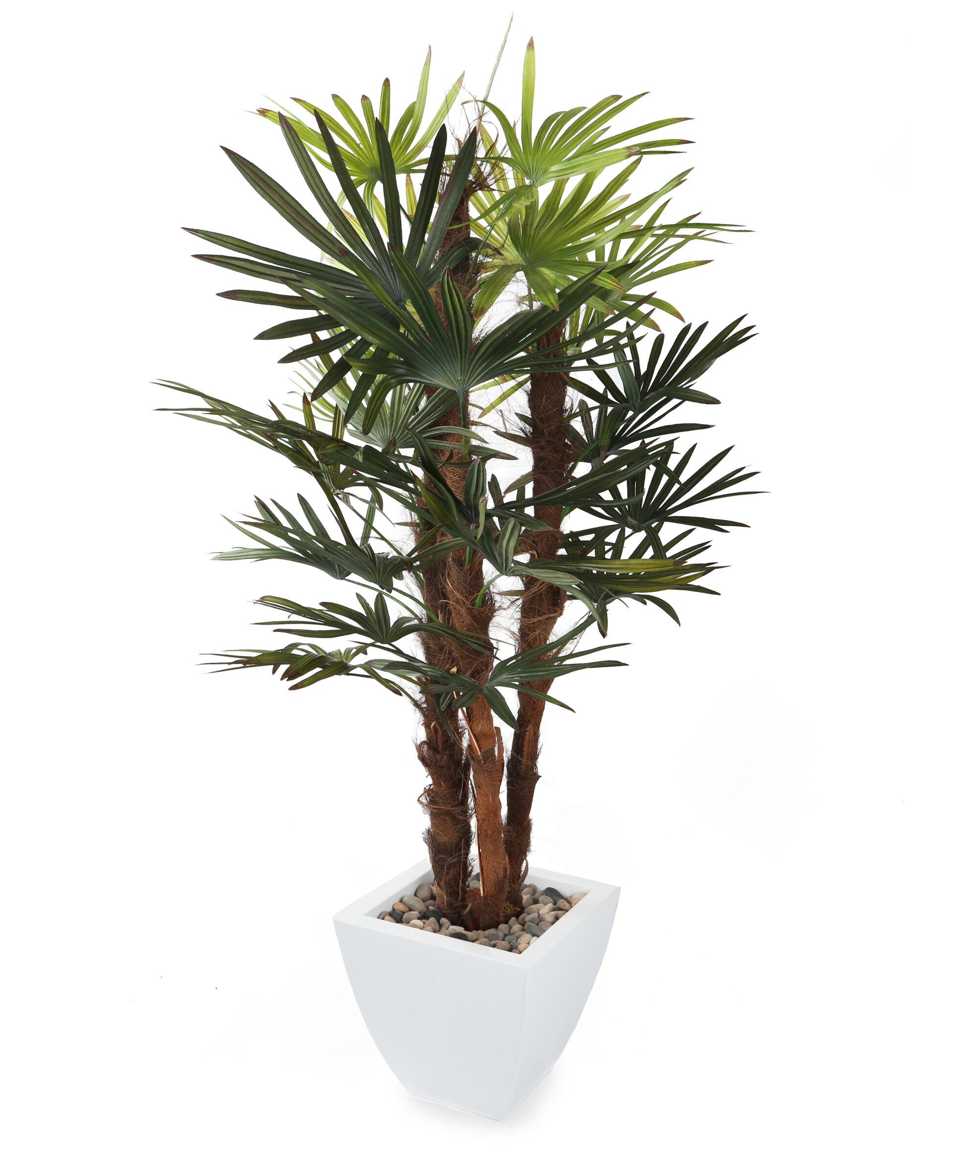 Artificial 4ft 5 lady palm tree fake palm tree faux palm for Acheter palmier artificiel