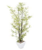 "View large Artificial 4ft 5"" Black Bamboo Tree - Artificial Silk Plant and Tree Range UK"