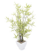 "View large Artificial 3ft 2"" Black Bamboo Tree - Artificial Silk Plant and Tree Range UK"