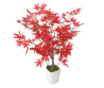 "View large Artificial 1ft 7"" Red Japanese Maple Tree - Artificial Silk Plant and Tree Range UK"
