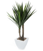 View large Artificial 4ft Yucca Plant - Artificial Silk Plant and Tree Range UK