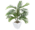"View large Artificial 2ft 6"" Kentia Palm Tree - Artificial Silk Plant and Tree Range UK"