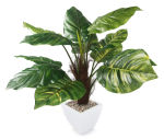 View large Artificial 3ft Pothos Plant - Artificial Silk Plant and Tree Range UK