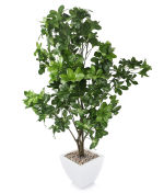"""View large Artificial 4ft 6"""" Umbrella Plant - Artificial Silk Plant and Tree Range UK"""