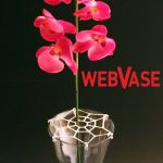 View large Web vase Flower Arranging Aid - Flower Arranging Sundries UK